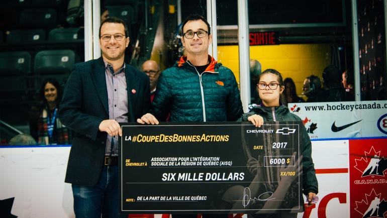 La Coupe des Bonnes Actions Chevrolet Canada