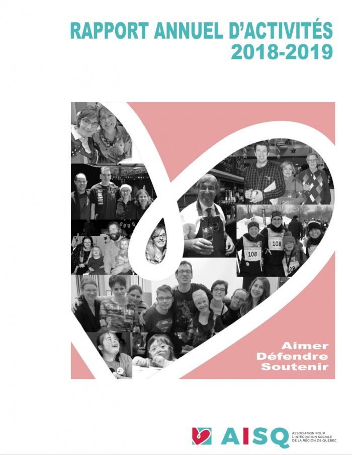 Rapport annuel d'activités 2018-2019 de l'AISQ